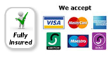 credit and debit cards accepted by myhome